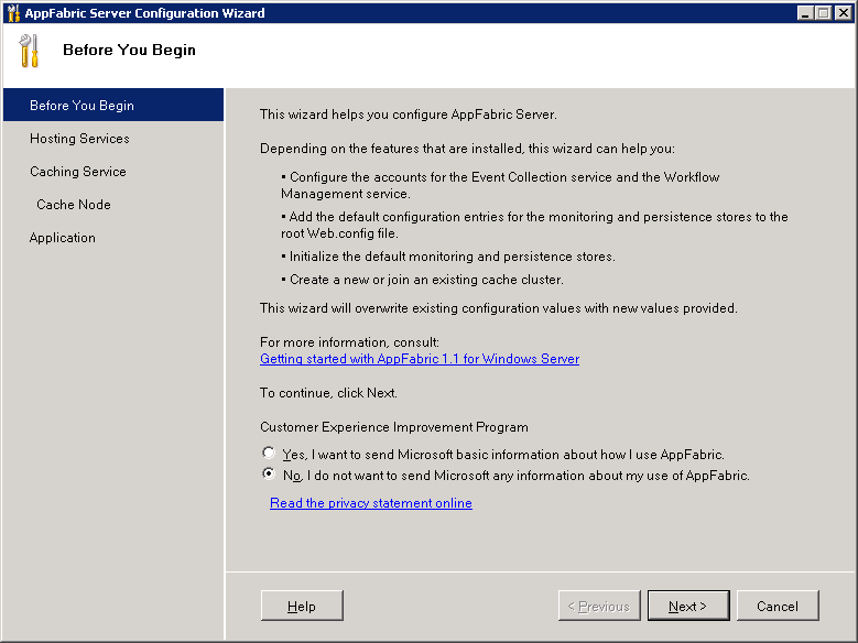 Installing and Configuring MS Web Farm Framework